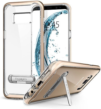 Spigen Samsung Galaxy S8 Crystal Hybrid, Gold Maple