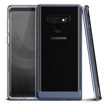 VRS Design Samsung Galaxy Note 9 Crystal Bumper, Deep Sea Blue