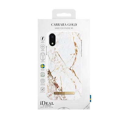 iDeal Of Sweden Fashion Case iPhone XR, Carrara Gold