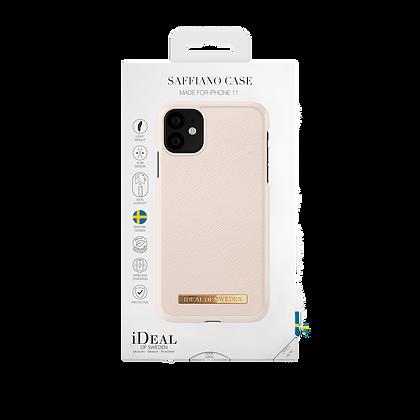 iDeal Of Sweden Fashion Case Saffiano iPhone 11, Beige