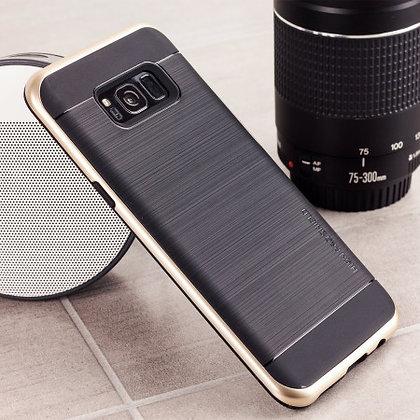VRS Design Samsung Galaxy S8 High Pro Shield, Shine Gold