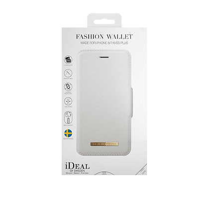 iDeal Of Sweden Fashion Wallet iPhone 8/7/6/6s Plus, White