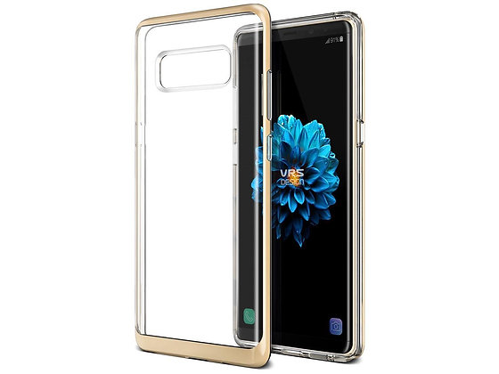 VRS Design Samsung Galaxy Note 8 Crystal Bumper, Gold