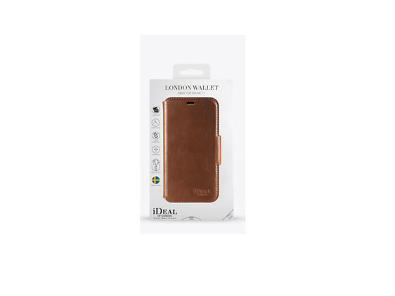 iDeal Of Sweden iPhone 11 London Wallet Case, Brown