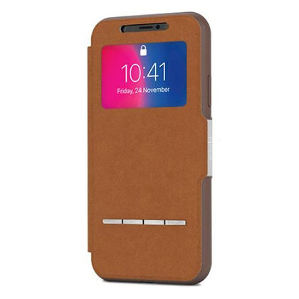 Moshi iPhone X SenseCover, Caramel Brown