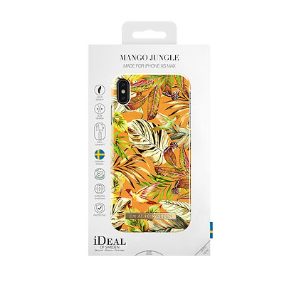 iDeal Of Sweden Fashion Case iPhone Xs Max, Mango Jungle