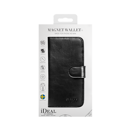 iDeal Of Sweden Magnet Wallet Plus iPhone Xs Max, Black