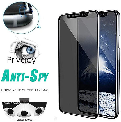Devia iPhone 11 Tempered Glass,  Curved Privacy Black
