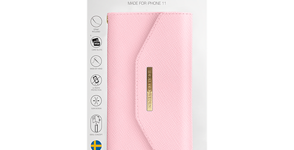 iDeal Of Sweden iPhone 11 Mayfair Clutch, Pink