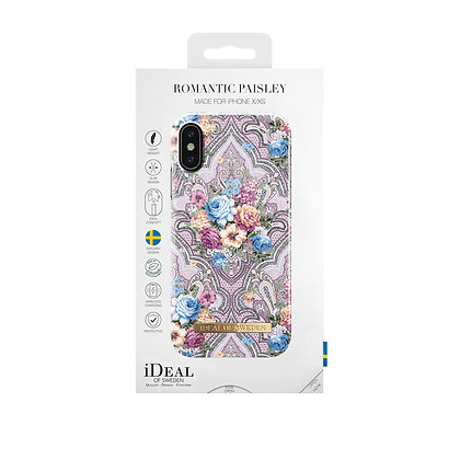 iDeal Of Sweden Fashion Case  iPhone X/Xs, Romantic Paisley