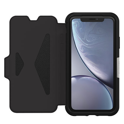 OtterBox  Strada Series iPhone XR, Shadow (Black/Pewter)