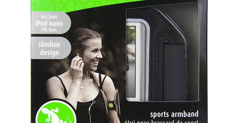Gecko Nano 7/ iPhone 12 mini Sports Armband, Black