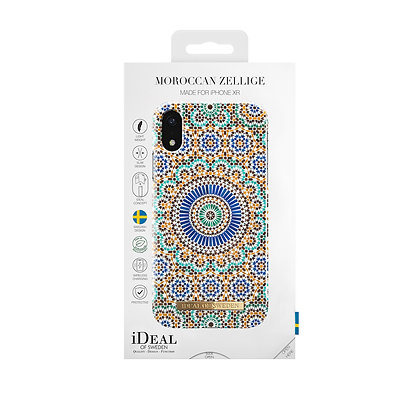 iDeal Of Sweden Fashion Case iPhone XR, Moroccan Zellige