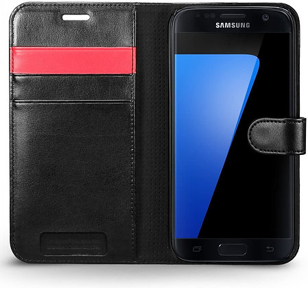 Spigen Samsung Galaxy S7 Wallet S, Black