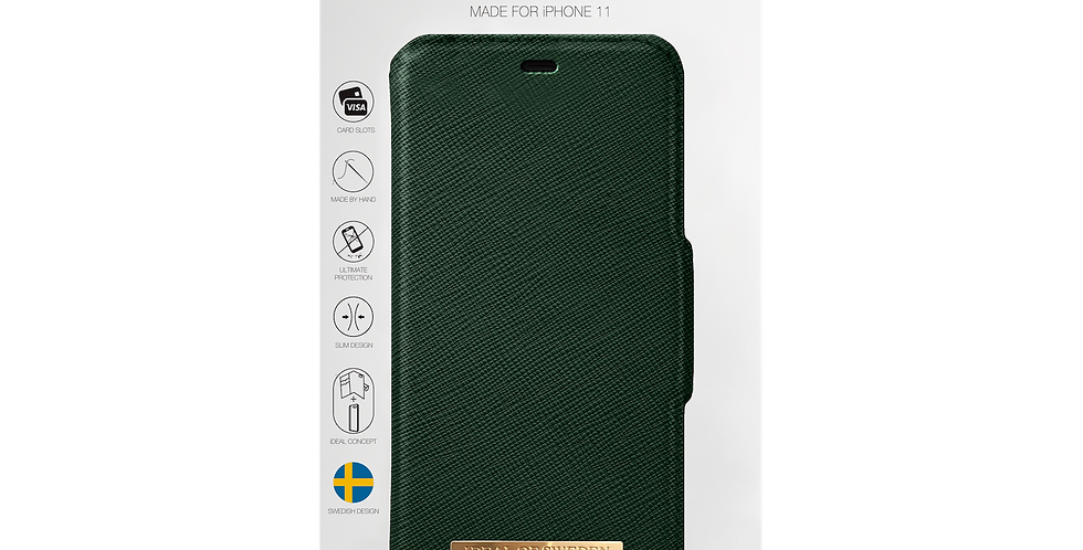 iDeal Of Sweden 11 Pro Fashion Wallet, Green