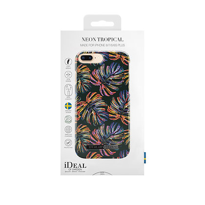 iDeal Of Sweden Fashion Case S/S 2018 iPhone 8/7/6/6s Plus, Neon Tropical