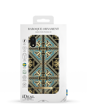 iDeal Of Sweden Fashion Case iPhone XR, Baroque Ornament