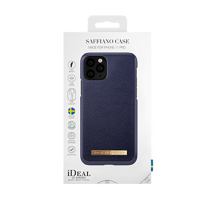 iDeal Of Sweden Fashion Case Saffiano iPhone 11 Pro, Navy