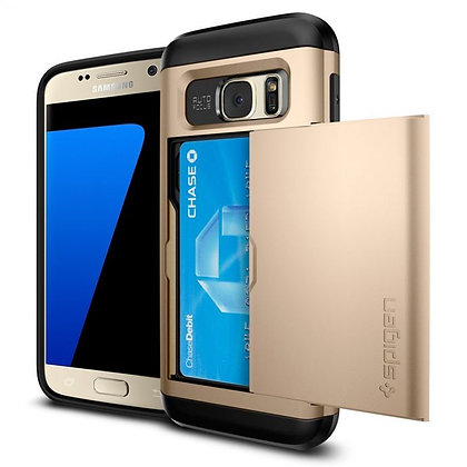 Spigen Samsung Galaxy S7 Slim Armor Series, CS Gold