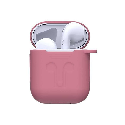 Devia AirPods Naked Silicone Case Suit, Pink