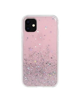 SwitchEasy iPhone 11 Starfield PC+TPU Case, Transparent Rose