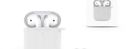 Devia AirPods Naked Silicone Case Suit, White