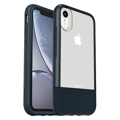 OtterBox Statement Series iPhone XR, Lucent Jade (Clear/Jade/Leather)