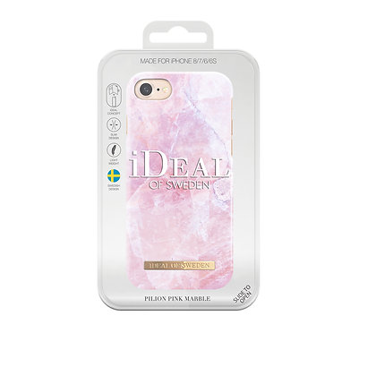 iDeal Of Sweden Fashion Case iPhone 8/7/6/6s, Pilion Pink Marble