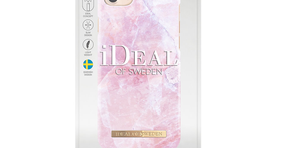 iDeal Of Sweden iPhone 8/7/6/6s Fashion Case, Pilion Pink Marble