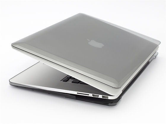 Power Support Air Jacket Set for MacBook Pro 13-inch Retina, Clear Black