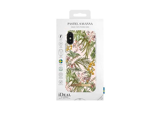 iDeal Of Sweden iPhone Xs Fashion Case 2019, Pastel Savanna
