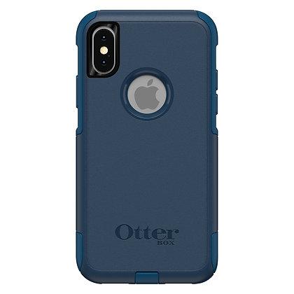 OtterBox Commuter Series iPhone Xs, Bespoke Way (Blue/Blue)