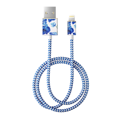 iDeal Of Sweden Fashion Lightning Cable, 1M Baby Blue Orchid