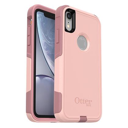 OtterBox Commuter Series iPhone XR, Ballet Way (Pink/Blush)