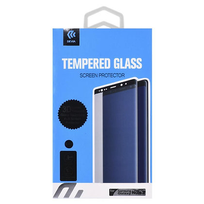 Devia Samsung Galaxy Note 9 Screen Protector,  Black