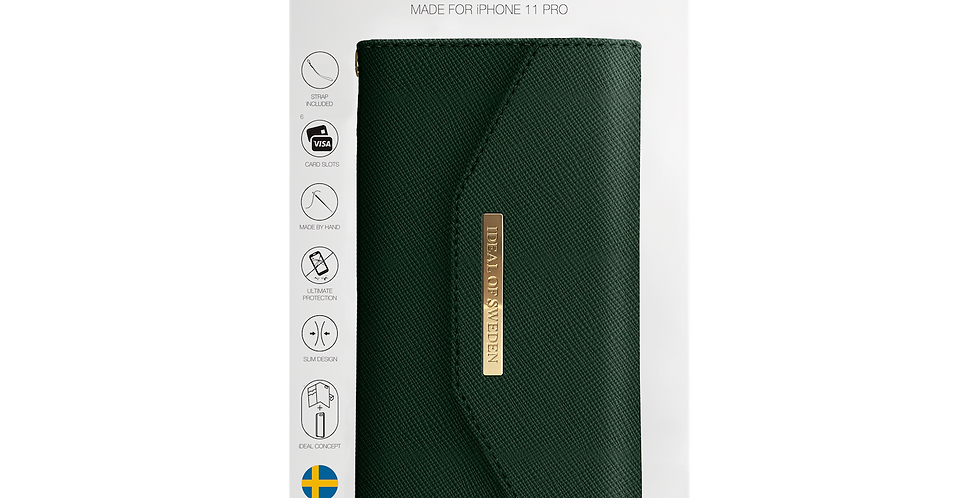 iDeal Of Sweden 11 Pro Mayfair Clutch, Green