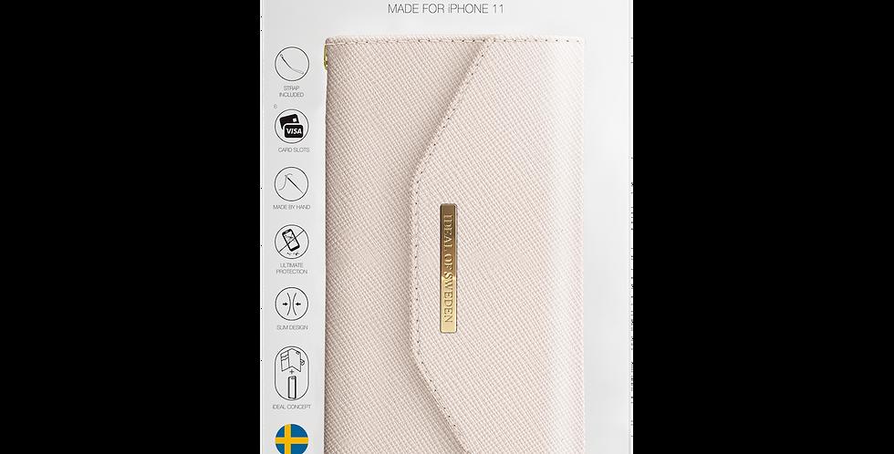 iDeal Of Sweden iPhone 11 Mayfair Clutch, Beige