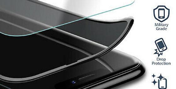 Devia iPhone 8/7 Tempered Glass, Full Anti-Glare Black