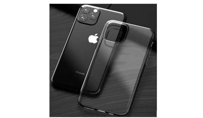 Comma iPhone 11 Pro Max Hard Jacket Case, Clear