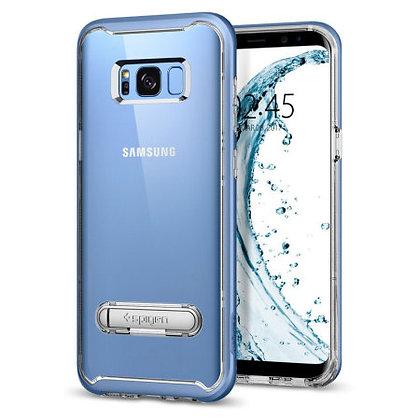 Spigen Samsung Galaxy S8+ Crystal Hybrid, Blue Coral