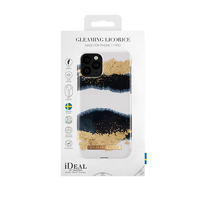 iDeal Of Sweden Fashion Case iPhone 11 Pro, Gleaming Licorice