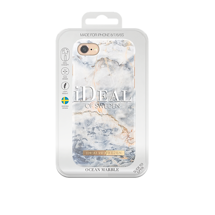 iDeal Of Sweden Fashion Case iPhone 8/7/6/6s, Ocean Marble