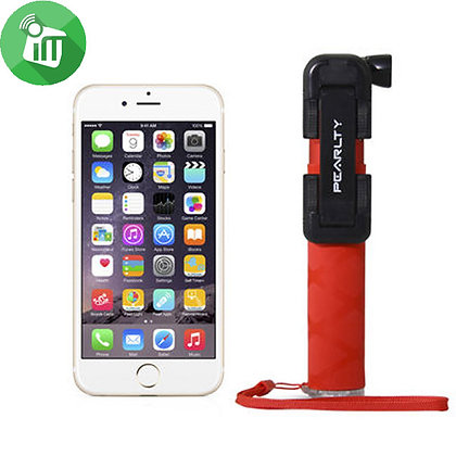 iPearl Selfie Stick Pocket, Red