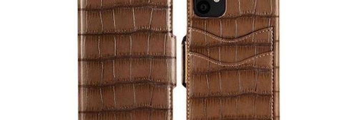 iDeal Of Sweden iPhone 11 Fashion Wallet Capri & Como, Brown