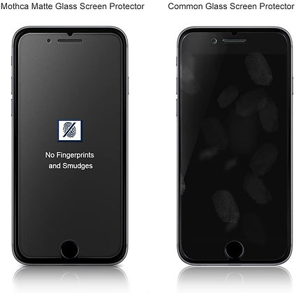 Comma iPhone 7/8 Plus Screen Protector, Anti-Glare