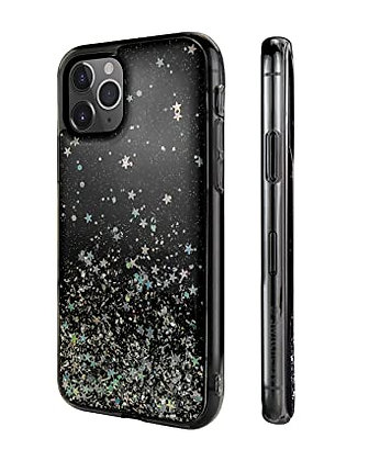 SwitchEasy iPhone 11 Pro Max Starfield PC+TPU Case, Transparent Black