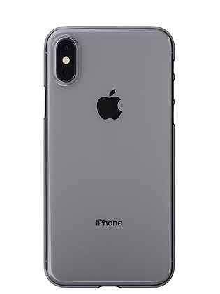Power Support iPhone Xs Air Jacket, Clear Black