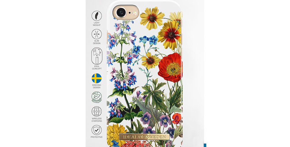 iDeal Of Sweden iPhone 8/7/6/6s Fashion Case, Flower Meadow