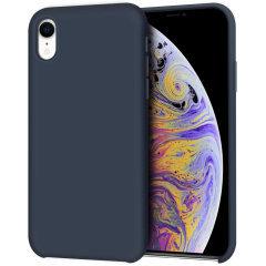 Devia iPhone XR Ultra-Thin Silicone Case, Blue