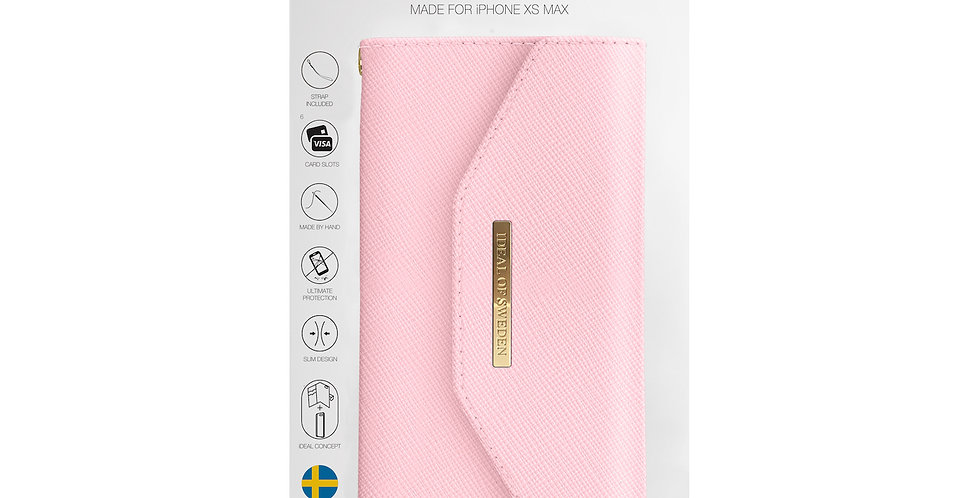iDeal Of Sweden iPhone Xs Max Mayfair Clutch, Pink